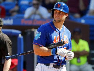 Mets Tebow Surgery Baseball