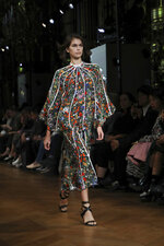 Model Kaia Gerber wears a creation as part of the Stella McCartney Ready To Wear Spring-Summer 2020 collection, unveiled during the fashion week, in Paris, Monday, Sept. 30, 2019. (Photo by Vianney Le Caer/Invision/AP)