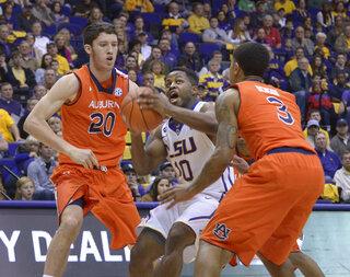 Auburn LSU Basketball