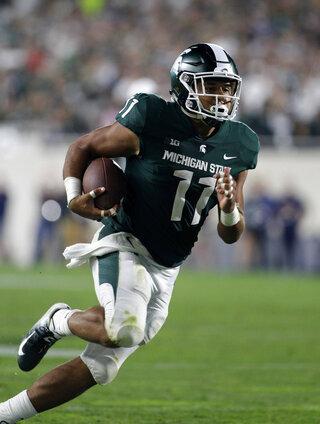 Michigan St Heyward Steps Up Football