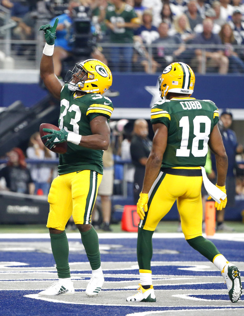 Aaron Jones, Randall Cobb