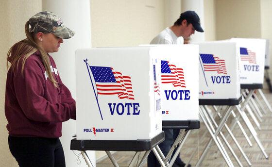 2016 Election Virginia Voting