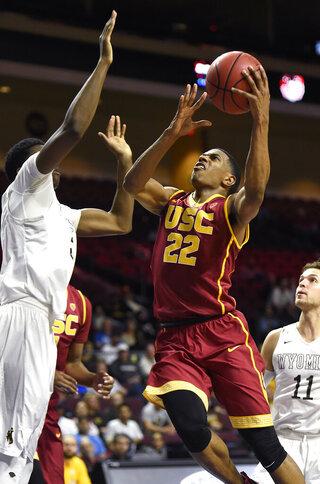 USC Wyoming Basketball