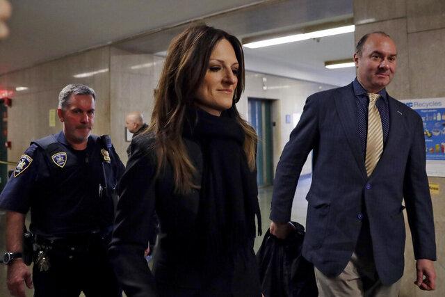 Defense attorney Donna Rotunno arrives for the Harvey Weinstein rape trial, in New York, Friday, Feb. 7, 2020. (AP Photo/Richard Drew)