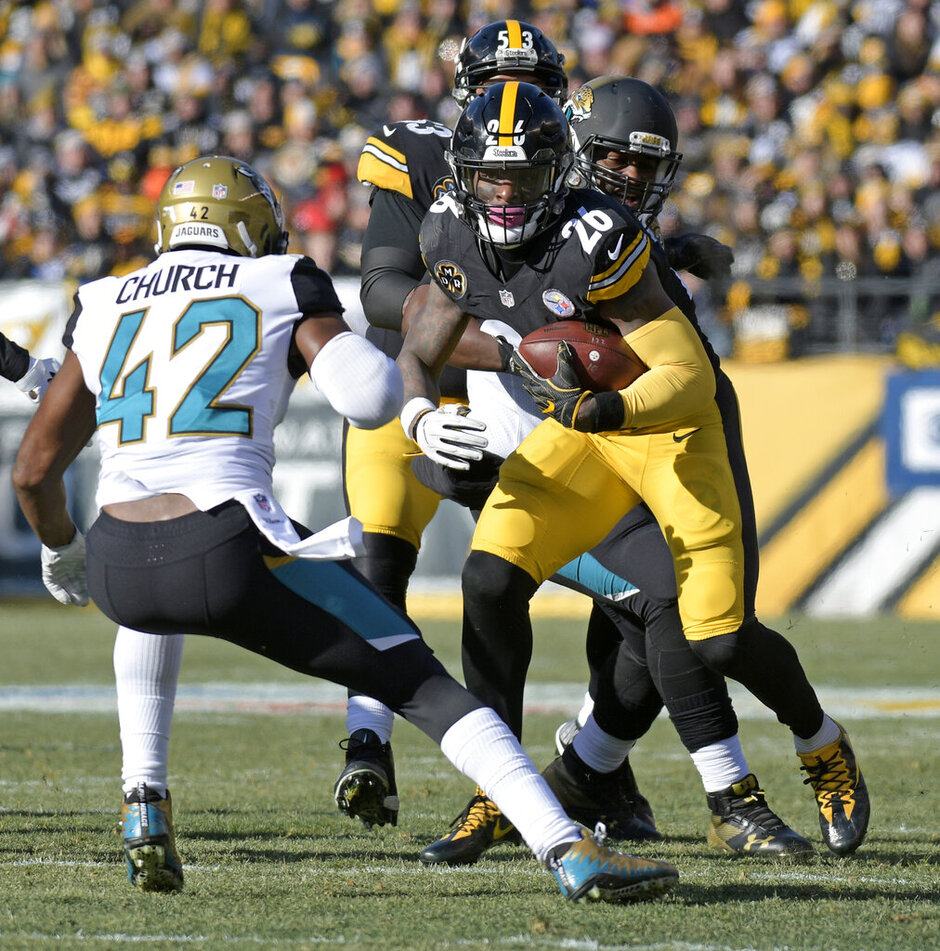 Le'Veon Bell, Barry Church