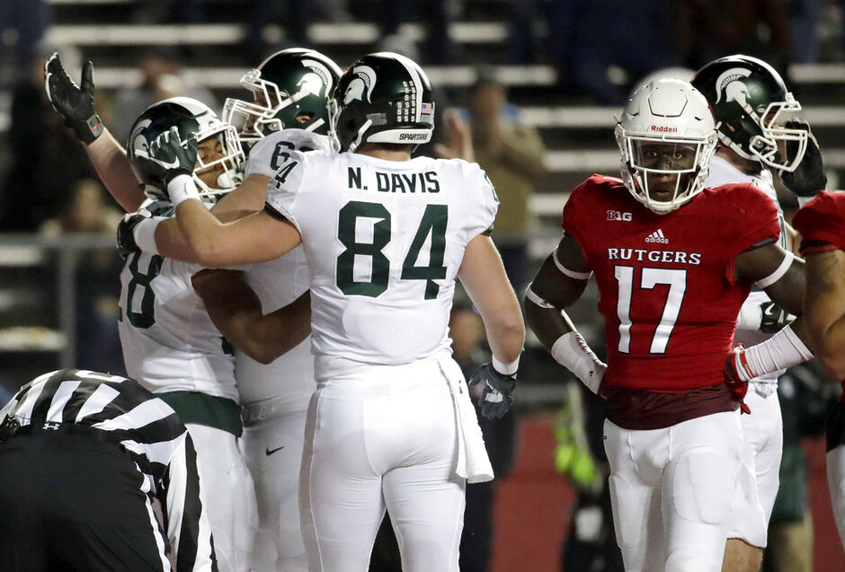 Michigan St Rutgers Football