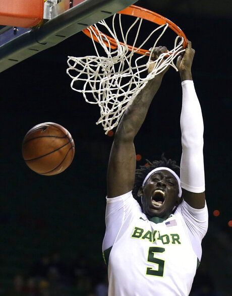 APTOPIX John Brown Baylor Basketball