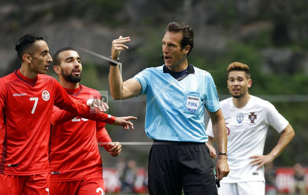 Portugal Tunisia Soccer