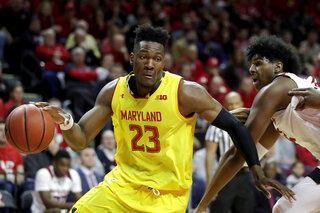 Maryland Rutgers Basketball