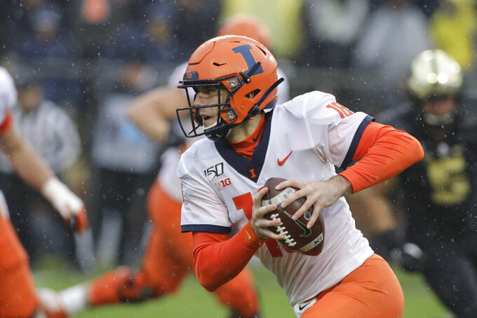 Illinois enjoying momentum as Rutgers comes to town
