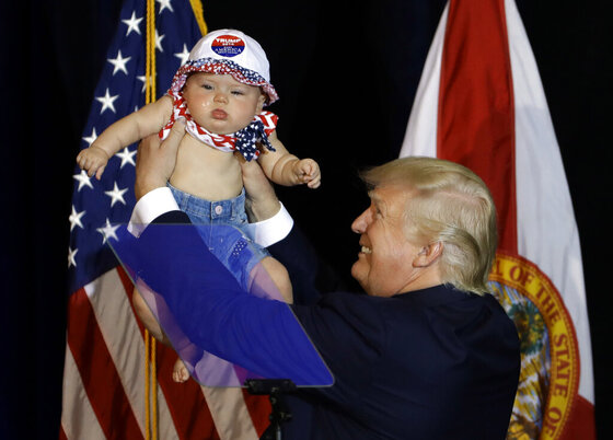 Donald Trump, Catalina Larkin