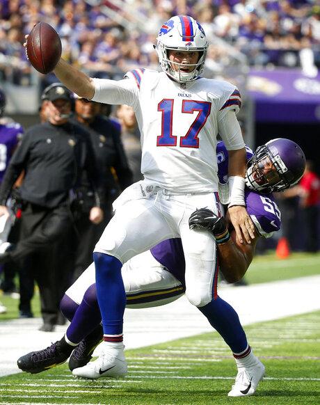 APTOPIX Bills Vikings Football