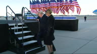 US Trump Farewell