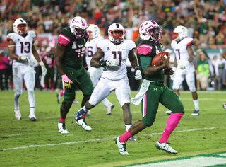 UConn South Florida Football