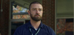 """This image released by Apple shows Justin Timberlake in a scene from """"Palmer."""" (Apple via AP)"""