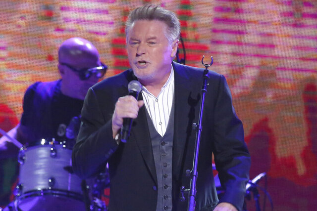 FILE - In this Oct. 25, 2017 file photo, artist Don Henley performs at