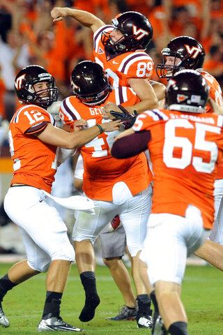 Georgia Tech Virginia Tech Football