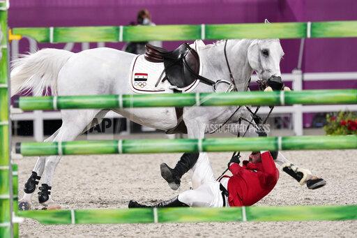 APTOPIX Tokyo Olympics Equestrian