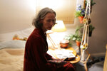 This image released by A24 shows Tilda Swinton in a scene from