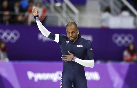 Pyeongchang Olympics Paul Newberry-Falling Short