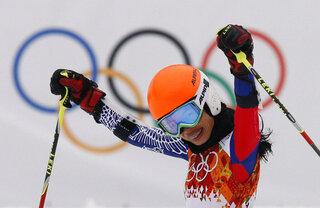 OLY Ski Vanessa Mae Defarmation
