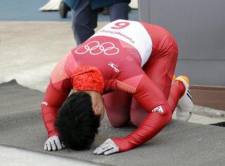 Pyeongchang Olympics Skeleton