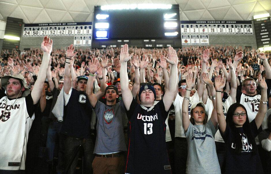 NCAA Championship UConn Campus Basketball