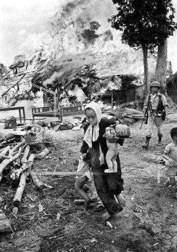 Vietnam Village Razed