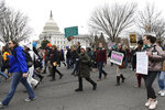 FILE - In this Jan. 24, 2020, file photo, anti-abortion activists participate in the