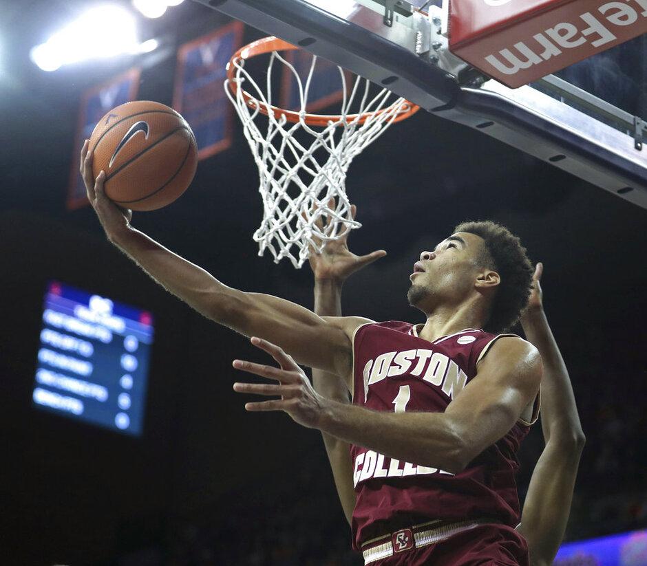 Boston College Virginia Basketball