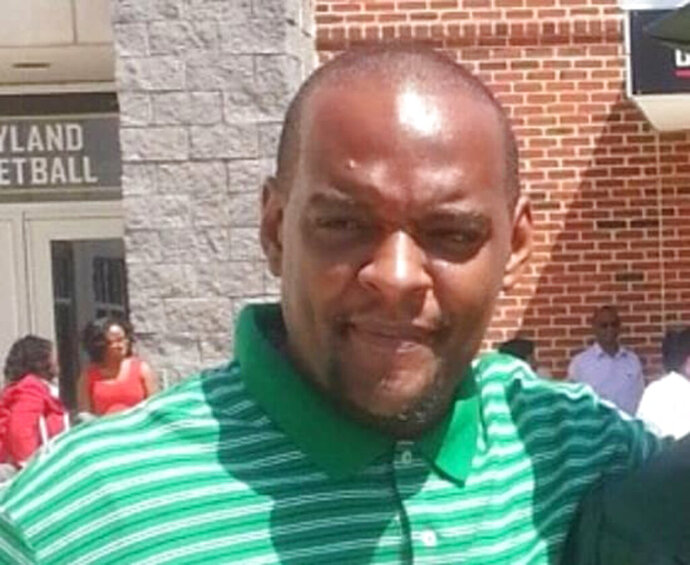 An undated photo of William Green. Prince George's County, Maryland has agreed to a $20 million settlement with the family of William Green, who was handcuffed in a patrol car when a police officer shot and killed him. Prince George's County Executive Angela Alsobrooks announced the settlement Monday, Sept. 28, 2020.  (Brenda Michaele Green via AP)