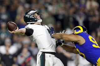 Eagles Rams Football