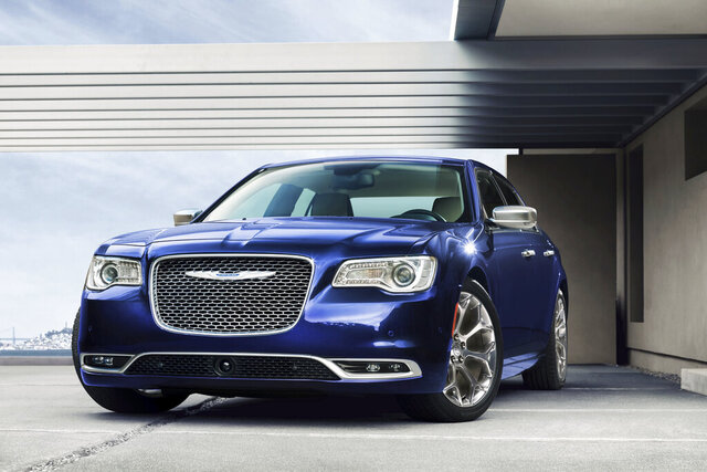 This photo provided by Chrysler shows the 2020 Chrysler 300C.  The COVID-19 pandemic has wreaked havoc on just about everything, including Black Friday car deals. Perhaps the biggest factor is the lack of inventory caused by all the factory shutdowns.  Edmunds market analysts expect inventory to remain low through the end of the year. Depressed supply means it's a seller's market, so discounts won't be nearly as steep as in years past.  (Chrysler via AP)