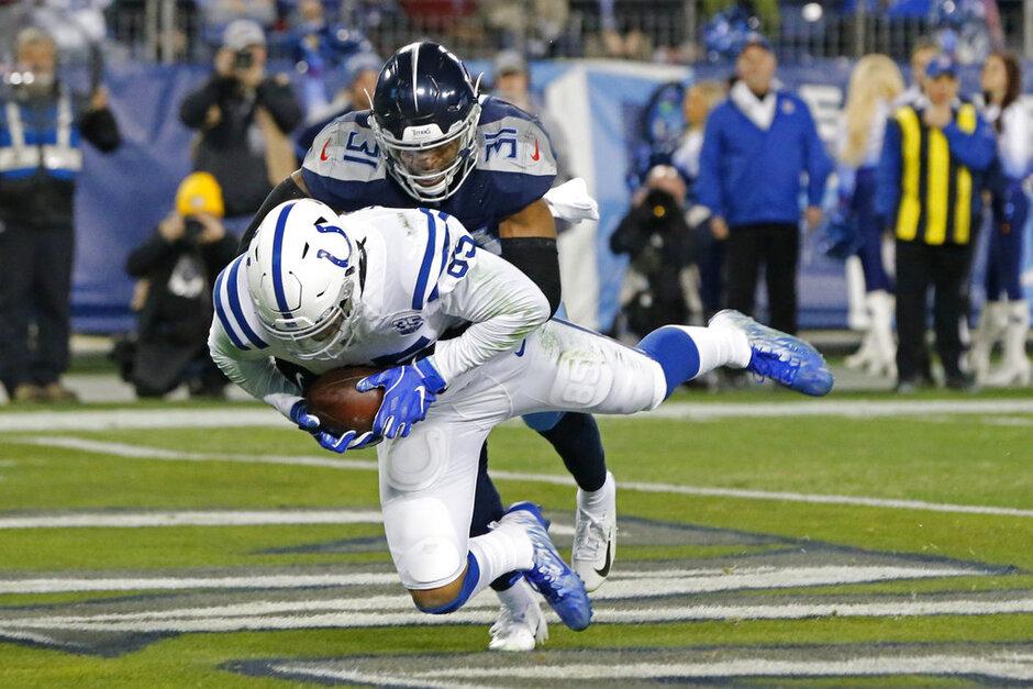APTOPIX Colts Titans Football