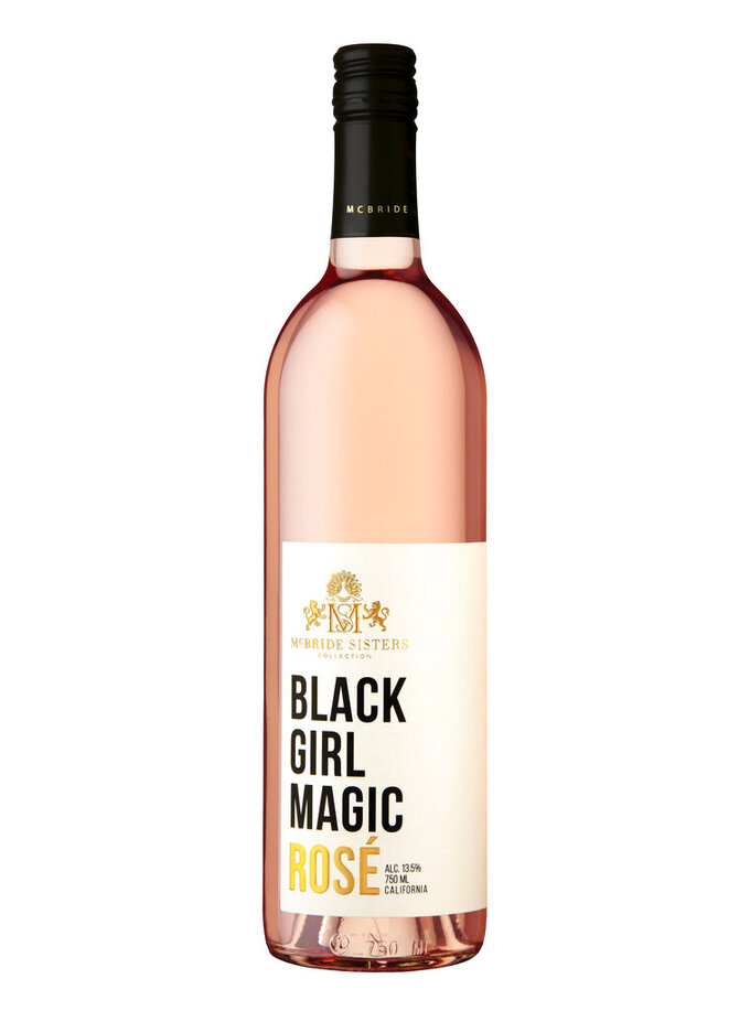 This photo shows a bottle of the Black Girl Magic wine. Keep the handmade cards, bouquets or breakfasts in bed coming this Mother's Day, but up your game in celebration of brighter days ahead with a store-bought gift. (McBride Sisters Collection via AP)