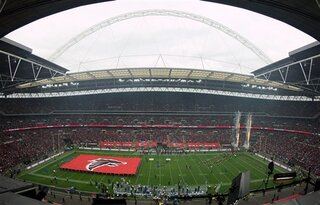 Britain Lions Falcons Football