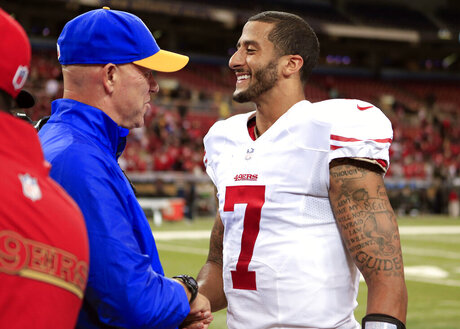 Colin Kaepernick, Mike Waufle