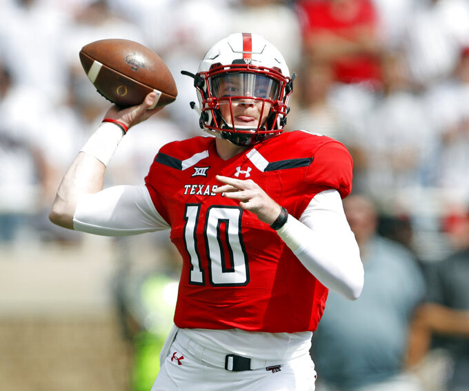 STAT WATCH: Freshman Alan Bowman next big arm at Texas Tech