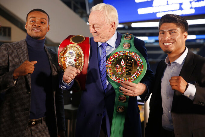 Garcia double-step to face Spence in undefeated title match