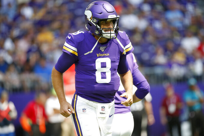 Cousins, Vikings enter crossroad year, with more help for QB