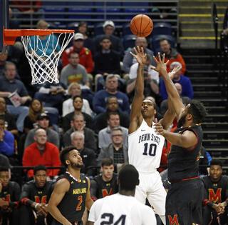 Maryland Penn St Basketball