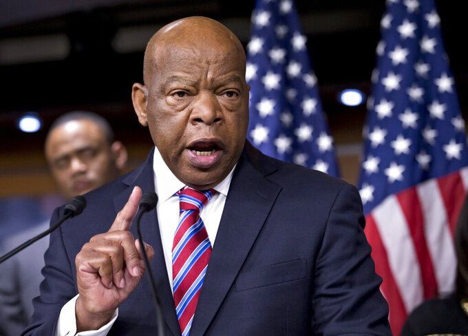 Rep. John Lewis sides with NFL players who want to protest