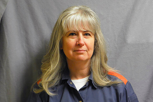 This February 2013, photo provided by the Michigan Department of Corrections shows Linda Kay Stermer. A federal appeals court overturned the murder conviction of Stermer, and ordered a new trial on Friday, May 15, 2020. Stermer was accused of setting a fire in 2007, that killed her husband, Todd, in Van Buren County. (Michigan Department of Corrections via AP)