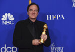 Quentin Tarantino, winner of the award for best director, motion picture, for