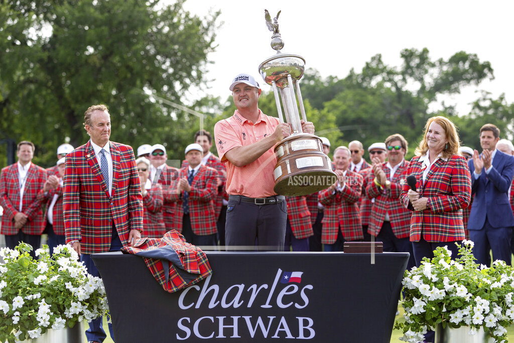 GOLF: MAY 30 PGA - Charles Schwab Challenge