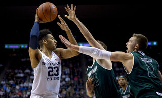 Utah Valley BYU Basketball