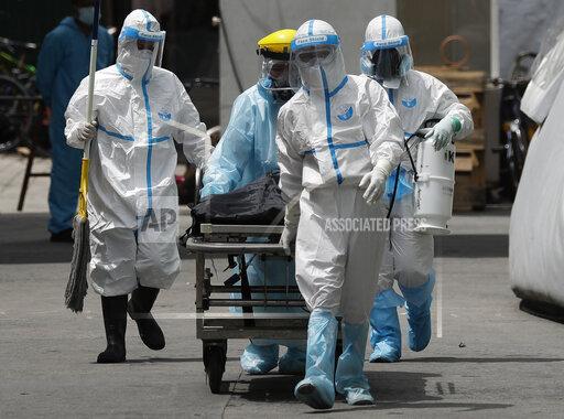 APTOPIX Virus Outbreak Philippines