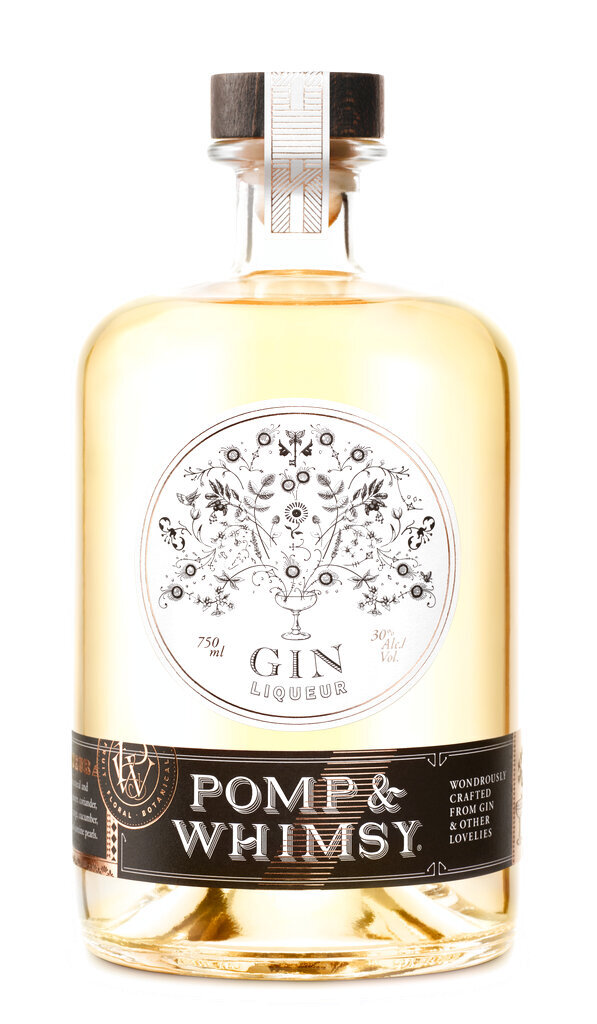 This photo shows Pomp & Whimsy Gin Liqueur. Keep the handmade cards, bouquets or breakfasts in bed coming this Mother's Day, but up your game in celebration of brighter days ahead with a store-bought gift. (Pomp & Whimsy via The AP)