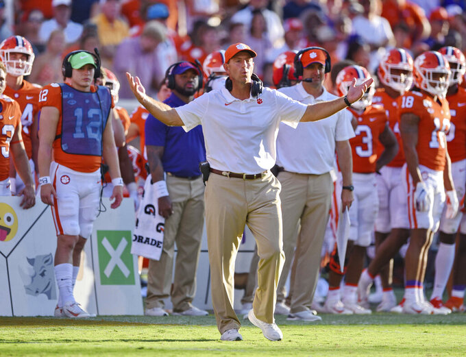 AP Top 25 Reality Check: Will winning keep Clemson at No. 1?
