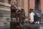 This image released by Epix shows Forest Whitaker as Bumpy Johnson, left, in a scene from
